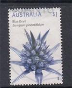 Australia 2016 Wildflowers - $1 Blue Devil Sheet Used