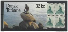 Danemark 1989 Carnet Neuf C947 Tourisme Petite Sirène - Boekjes
