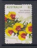 Australia 2016 Wildflowers - $1 Spiny Mirbelia Die Cut Used