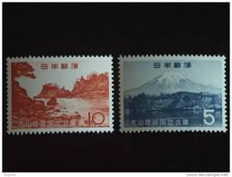 Japan Japon Nippon 1965 Parc National Yv 792-793  MNH ** - 1926-89 Emperor Hirohito (Showa Era)