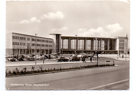 CP - Foto - Heidelberg - Neuer Hauptbahnhof - Animé Oldtimer