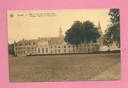 C.P. Postel =   Abdij  En  Kerk  Met  De Twee Torens - Mol