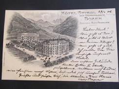 AK BOZEN Hotel Stiegl  Ca.1900 // D*22612 - Bolzano (Bozen)