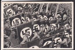 """Sammelbild Propaganda , """" Deutschland Erwacht  """" Bild 218 , Schwarz -weiß"""