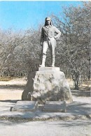 AFRIQUE NOIRE - RHODESIE Rhodesia : Livinstone's Statue - Victoria Falls - CPSM GF - Black Africa - Postales