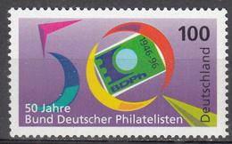 GERMANY      SCOTT NO. 1939      MNH      YEAR  1996