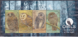 2016. AUSTRALIAN DECIMAL  OWLS.  $1. Owl. Miniature Sheet. MS.