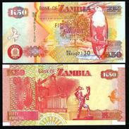 ZAMBIA :  50 Kwacha Del 2007  Pick 37f   FdS UNC - Zambia