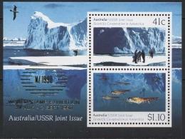 Australien 1990 Ausstellung NEW ZEALAND'90 Block 11 I Postfrisch (C24012)