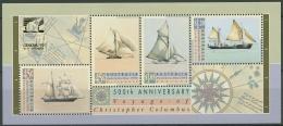 Australien 1992 Columbus Segelschiffe GENOVA'92 Block 13 II Postfrisch (C24016)