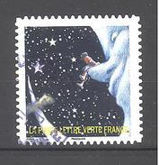 France Autoadhésif Oblitéré (Correspondances Planétaires - N°1) (Cachet Rond)