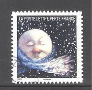 France Autoadhésif Oblitéré (Correspondances Planétaires - N°2) (Cachet Rond)