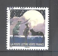 France Autoadhésif Oblitéré (Correspondances Planétaires - N°4) (Cachet Rond)
