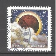 France Autoadhésif Oblitéré (Correspondances Planétaires - N°6) (Cachet Rond)