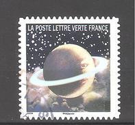 France Autoadhésif Oblitéré (Correspondances Planétaires - N°10) (Cachet Rond)