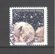 France Autoadhésif Oblitéré (Correspondances Planétaires - N°11) (Cachet Rond)