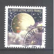 France Autoadhésif Oblitéré (Correspondances Planétaires - N°12) (Cachet Rond)