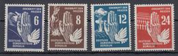 DDR - 1950 - Mi. 276/279 ** - Nuevos