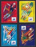 FRANCE Francia Frankreich - 1997, Série Complète Oblitérée Yvert 3074/3077 - Coupe Du Monde De Footbal.