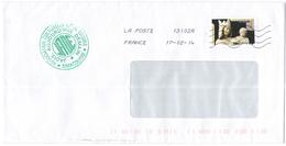 FRANCIA - France - 2014 - Lettre Prioritaire 20g Art Gothique - Viaggiata Da 13102A