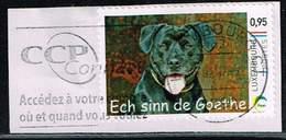 Luxemburg 2016, Michel#  2093 O Ech Sinn De Goethe Auf Papier
