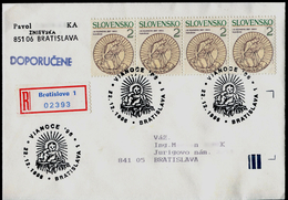 619-SLOVAKIA R-cover Weihnachten '96-Christmas´96,Commemorative Stamp 1996