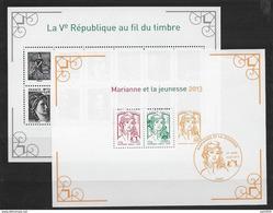France 2013 Blocs 133 Et F4781 Marianne De La Jeunesse état Luxe