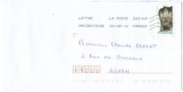FRANCIA - France - 2010 - Lettre Prioritaire 20g Orgue - Viaggiata Da 22014A Per Royan, France