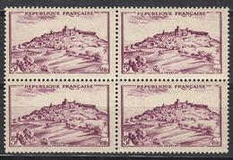 FRANCE 1946 - BLOC DE 4 TP - Y.T. N° 759 - NEUFS** / FD573