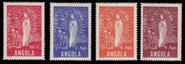 Angola 1948, Mary Of Fatima, 4val MNH