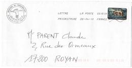 FRANCIA - France - 2010 - Lettre Prioritaire 20g Inondation - Viaggiata Da 03151A Per Royan, France