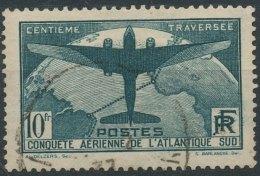 N° 321, Traversée De L'Atlantique, Avec Perforation