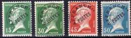 PRE65/68, Les 4 Valeurs Type Pasteur Signées