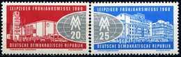 DDR - Michel 750 / 751 - ** Postfrisch (B) - Leipziger Frühjahrsmesse 60