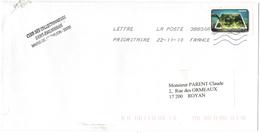 FRANCIA - France - 2010 - Lettre Prioritaire 20g Algues Vertes - Viaggiata Da 38830A Per Royan, France