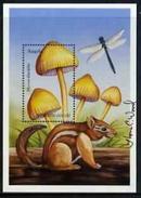 Angola 1999, Mushrooms, Mycena, BF Signed By Thomas C. Wood The Designer