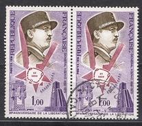 FRANCE 1974 -  PAIRE - Y.T. N° 1796  - OBLITERES - FD574