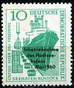 DDR - Michel 763 - ** Postfrisch (A) - Hochseehafen Rostock