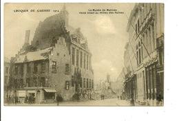 Mechelen Le Musée De Malines Resté Intact Au Milieu Des Ruines - Malines