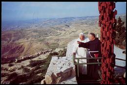 301-JORDAN Postcard Visit Of His Holiness Pope John Paul II Mount Nebo 2000