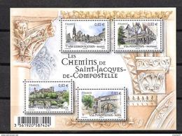 France: F4838**  Les Chemins De Saint Jacques De Compstelle