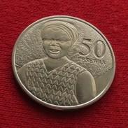 Ghana 50 Pesewas 2007 KM# 41 Gana - Ghana