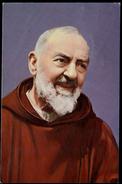 302-IITALY Postcard Portrait Padre PIO Da Pietrelcina Poste Vaticana Commemorative Stamp 1999