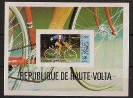 Haute Volta - 1980 - Bloc Feuillet N°Yv. 17 - JO Moscou - Non Dentelé / Imperf. - Neuf Luxe ** / MNH / Postfrisch