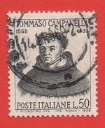 1968 (1094) Tommaso Campanella - Leggi Il Messaggio Del Venditore