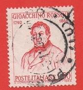 1968 (1096) Gioacchino Rossini - Leggi Il Messaggio Del Venditore