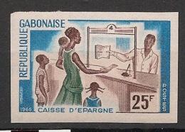 Gabon - 1966 - N°Yv. 198 - Caisses D'épargne - Non Dentelé / Imperf. - Neuf Luxe ** / MNH / Postfrisch