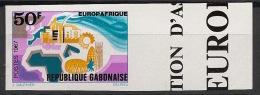 Gabon - 1967 - N°Yv. 218 - Europafrique - Non Dentelé / Imperf. - Neuf Luxe ** / MNH / Postfrisch