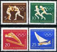 DDR - Michel 746 / 749 - ** Postfrisch (A) - Olympiade 60
