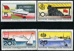 DDR - Michel 768 / 771 - ** Postfrisch (A) - FDGB-Urlauberschiff
